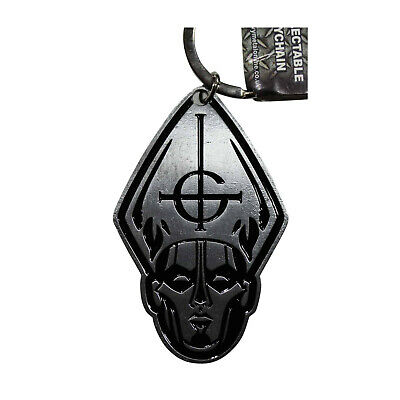 GHOST BC PAPA Metal Keychain - Key Chain Keyring Key Ring FOB - OFFICIAL