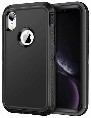 For Apple iPhone XR Case with Belt Clip Fits Otterbox Defender Series
