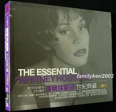 Taiwan Limited 2-CD w/Slipcase SEALED WHITNEY HOUSTON THE ESSENTIAL Best of Hits
