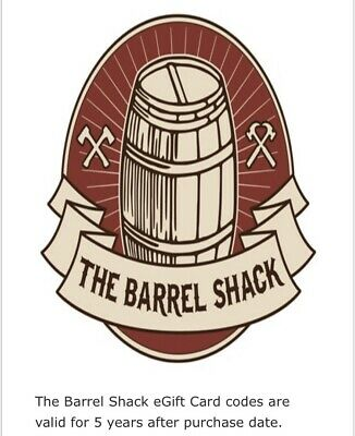 The Barrel Shack Gift Card $50