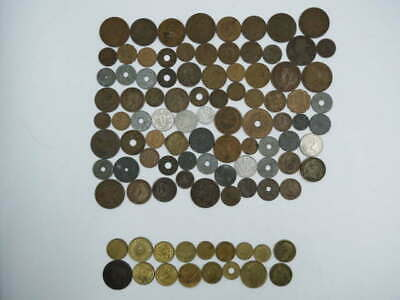 90+ Unsearched Vintage Antique Foreign World Rare Find Coin Collection Lot