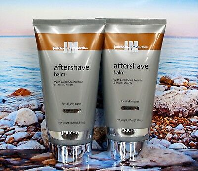 "2 x  JERICHO MEN ""Original AFTERSHAVE BALM!!"" Is Back by Popular Demand!!"
