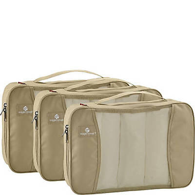 New Eagle Creek Pack-It Full Cube Set With 3 Cubes Tan