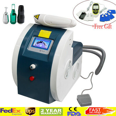 Switched ND YAG Laser Tattoo Removal Flecks Eyebrow Pigment Remove Beauty Device