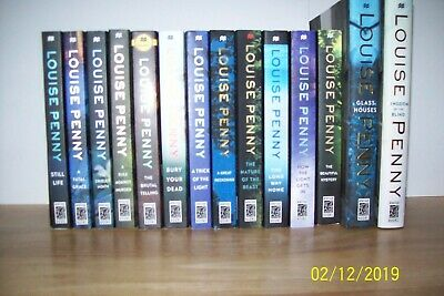 Lot of 14 CHIEF INSPECTOR GAMACHE Novels by LOUISE PENNY ~ KINGDOM OF THE BLIND+