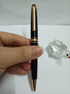 163 Black body with Gold Trim Luxury Ballpoint pen with High Quality