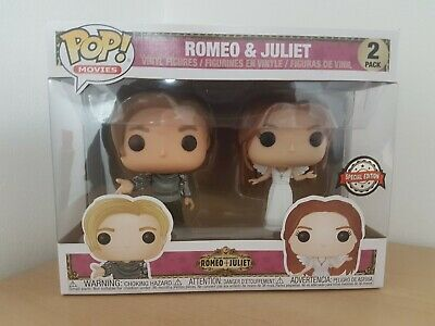 FUNKO POP! Romeo & Juliet - Romeo & Juliet Vinyl 2-pack FIGURE Special Edition