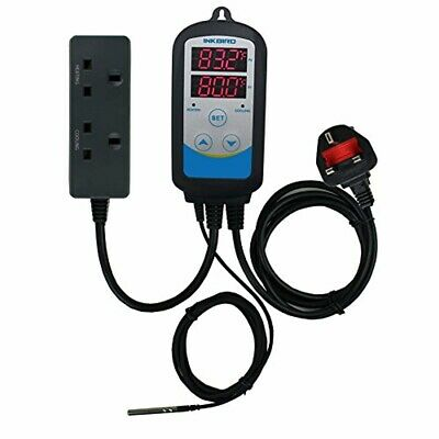Inkbird ITC-310T-B 12-stage Programmable Digital Temperature Controller for Heat