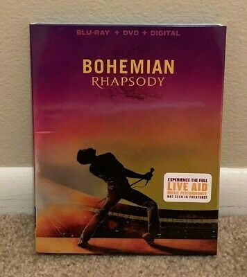 Bohemian Rhapsody (Blu-ray/DVD, 2019, 2-Disc Set)