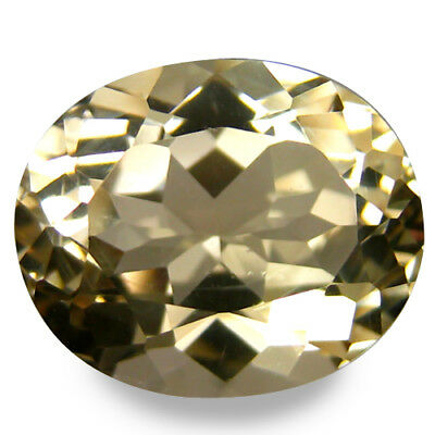 3.64Cts Genuine Yellow Fine Oval Cut Natural Scapolite Gemstone''Ref VDO'