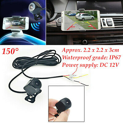 0.1Lux 150° WiFi Wireless Car Rear View Reverse Camera For iPhone Android ios
