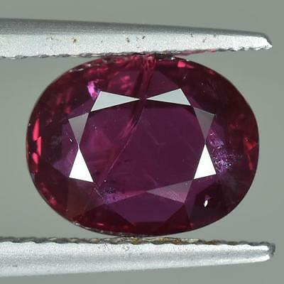RED 1.85 Cts Sparkling 100% Natural Nice Unheated Mozambique Ruby