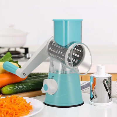 Multi-function Chopper Manual Rotating Grater Vegetable Fruit Cutter Kitche UP