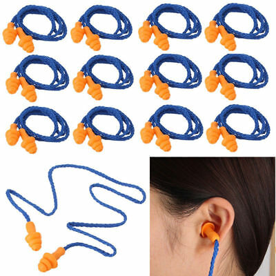 10PCS Hearing Protection Christmas Tree Earplugs Corded Soft Silicone Ear Plug %
