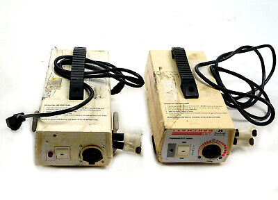 Lot of 2 Huntleigh AC500 Flowtron Prophylactic DVT Therapy Pump System For parts