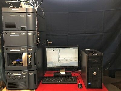 Waters ACQUITY UPLC with PDA detector and Empower 3 workstation