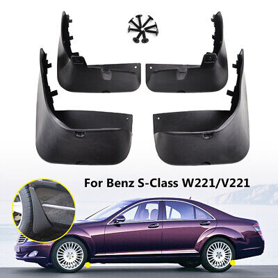 OE Style Mudguards For Benz S-Class W221 V221 07-13 Splash Guards Mud Flaps S300