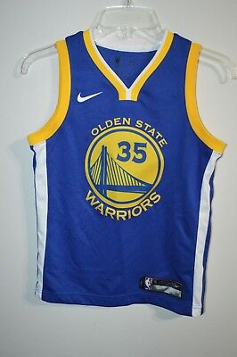 Nike Kevin Durant 35 Golden State Warriors NBA Jersey Swingman Icon Youth M ff1fe166b