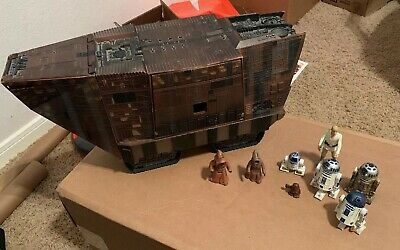 Star Wars Jawa Sandcrawler The Original Trilogy Collection 2004 With Figures Lot
