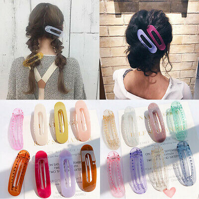 11.5cm Hair Clip Candy Color Hairband Comb Bobby Pin Barrette Hairpin Headdress