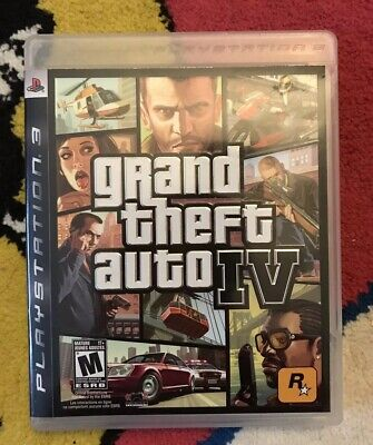 Grand Theft Auto IV - PS3 (Complete)