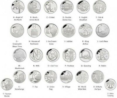2018 New A-Z 10p Coins Choose the letter**FREE POSTAGE**