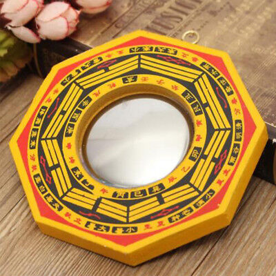 Chinese Traditional Vintage Feng Shui Bagua Concave and Convex Mirror LH