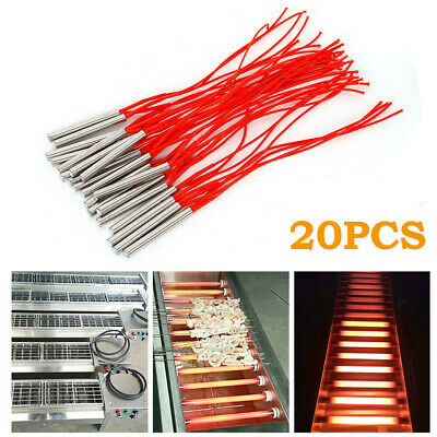 20PC 9.5X80mm AC110V 300 Watt Cartridge Mold Heating element heater Tube US Ship