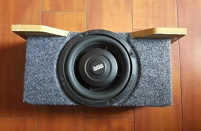 Custom subwoofer enclosure with Earthquake Sound SWS-6.5X for BMW Z3 Roadster