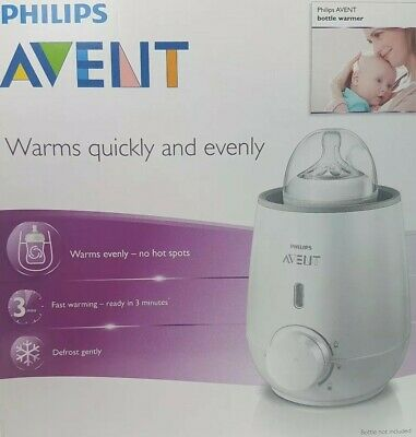 Avent Bottle And Food Warmer Quickly And Evenly Defrost In 3 Minutes