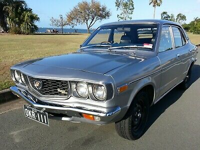 1974 Mazda RX3 12A 4 speed with a genuine 58,000 kilometres on its odometer RX-3