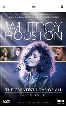 Whitney Houston: The Greatest Love of All - A Tribute [Region 2] - DVD - New