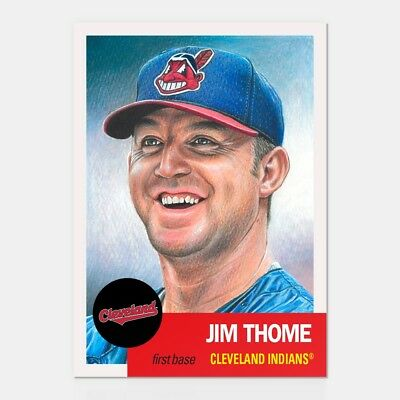 In hand...ready to ship! 2018 TOPPS LIVING SET #124 JIM THOME FREE SHIP!