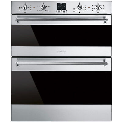 Graded Smeg DUSF636X 60cm St.Steel Built Under Electric Oven (JUB-21421) RRP£899