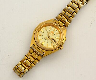 Vintage Orient Automatic women's wrist watches Water resistant  Cal.55941 21J