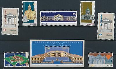 LJ75117 Armenia churches historical buildings fine lot MNH