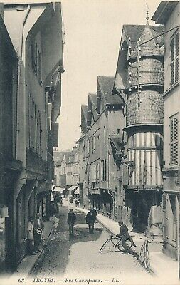 CPA - France - (10) Aube - Troyes - Rue Champeaux