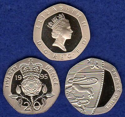 Great Britain, Proof 20p, 20 Pence Coin, Choice of Year, Choose Your Date