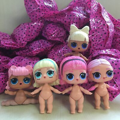 1PCS LOL Surprise Series Naked Doll Kids Christmas Gift Toy Random