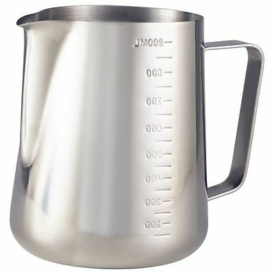 Graduated Milk Jug 32oz Milk Water Jug Stainless Steel Jug Frothing Latte Milk
