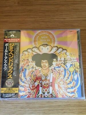 JIMI HENDRIX - AXIS : BOLD AS LOVE - CD Japan Edition with OBI COME NUOVO