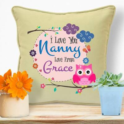 Personalised Gifts For Grandma Nanny Mothers Day Birthday Christmas Cushion #68
