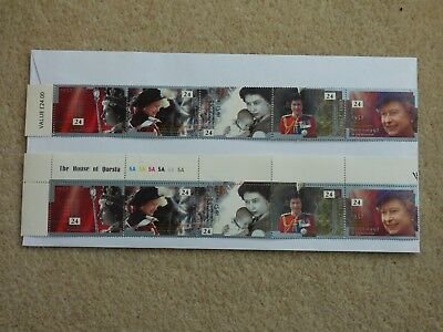 Collection of UK commemorative stamps early 1990s, all unused MNH, mostly pairs