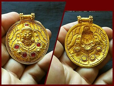 Stunning Solid High Ct Gold Large Kushan Dynasty 1St Century Ad Pendant