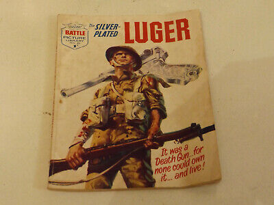 BATTLE PICTURE LIBRARY NO 06,dated 1961 !,GOOD FOR AGE,VERY RARE,58 yrs old.