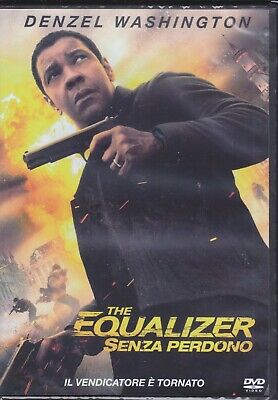 Dvd THE EQUALIZER 2 • SENZA PERDONO con Denzel Washington nuovo 2018
