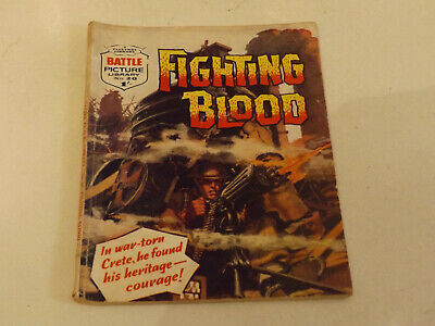 BATTLE PICTURE LIBRARY NO 20,dated 1961 !,GOOD FOR AGE,VERY RARE,58 yrs old.