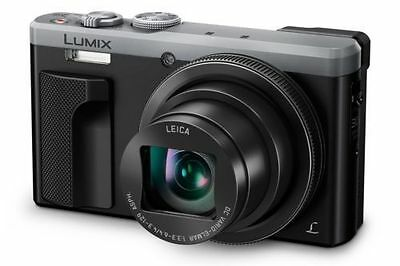 Panasonic Lumix Dmc-Tz80Eb-S Superzoom Compact Camera Silver - With Warranty