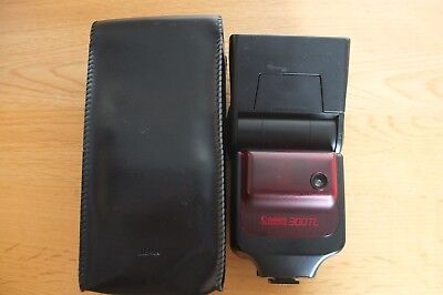Canon 300TL Dedicated Flash - Very Clean and Tested with Case & Instruction book