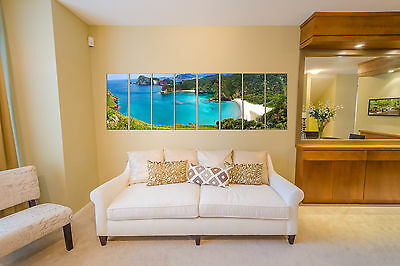 Extra Large Seascape Blue Sea Nature Canvas Wall Art Picture Print Home Decor